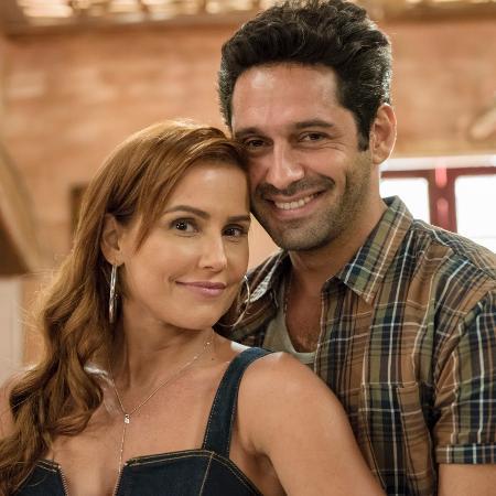 Alexia chama Zezinho de Renzo e Ermelinda desconfia - Globo/Camilla Maia