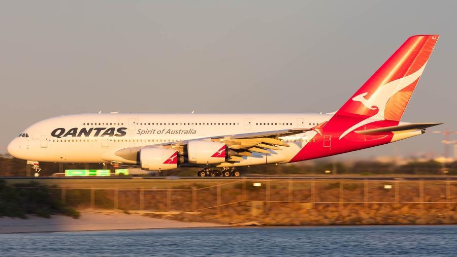 A australiana Qantas ficou no topo do ranking da Airline Ratings - Reprodução