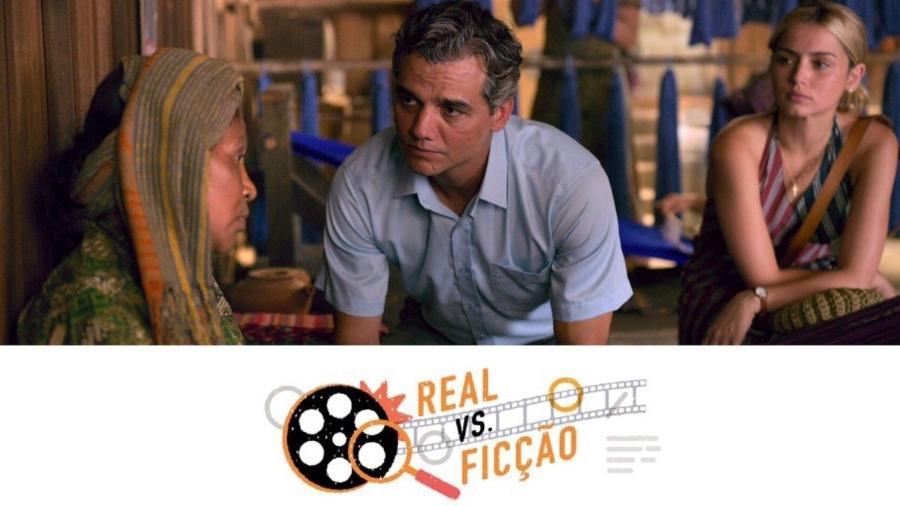 """O que é verdade e o que é ficção no filme """"Sergio"""", da Netfix? - Divulgação Netflix e Arte/UOL"""