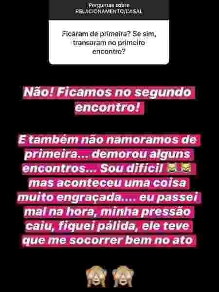 Romana Novais responde pergunta de fã no Instagram - Reprodução/Instagram - Reprodução/Instagram