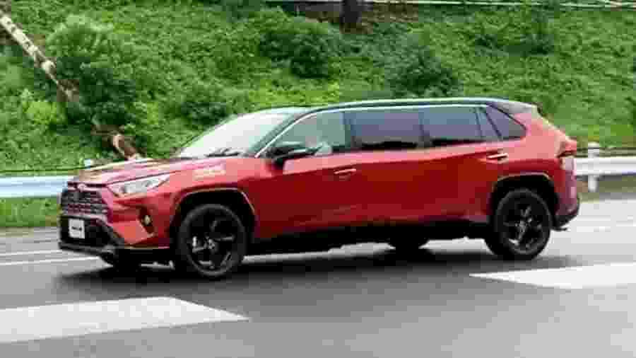 RAV4 limusine feito pela Toyota no Japão - Reprodução