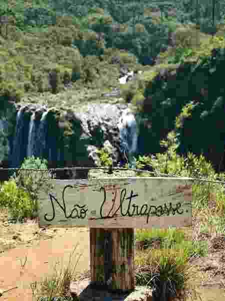 Sinalização do parque nacional Aparados da Serra - Felipe van Deursen - Felipe van Deursen