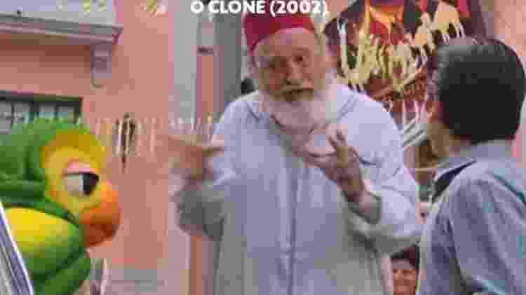 Louro José gravou participação em 'O Clone' em 2002 - Reprodução/Globo - Reprodução/Globo
