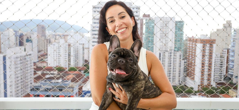 Com a chegada de Léo, Talitha Cristina Braga teve que repensar espaços e rotinas da casa - Fernanda Luz/UOL
