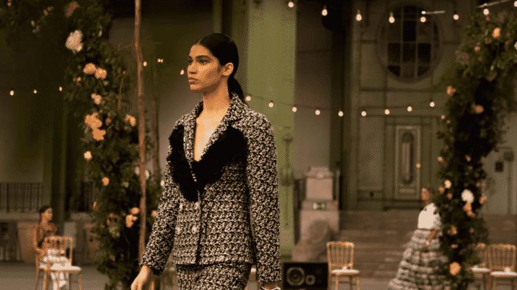 Raynara Negrine desfile chanel grand palais - Reprodução/Chanel - Reprodução/Chanel