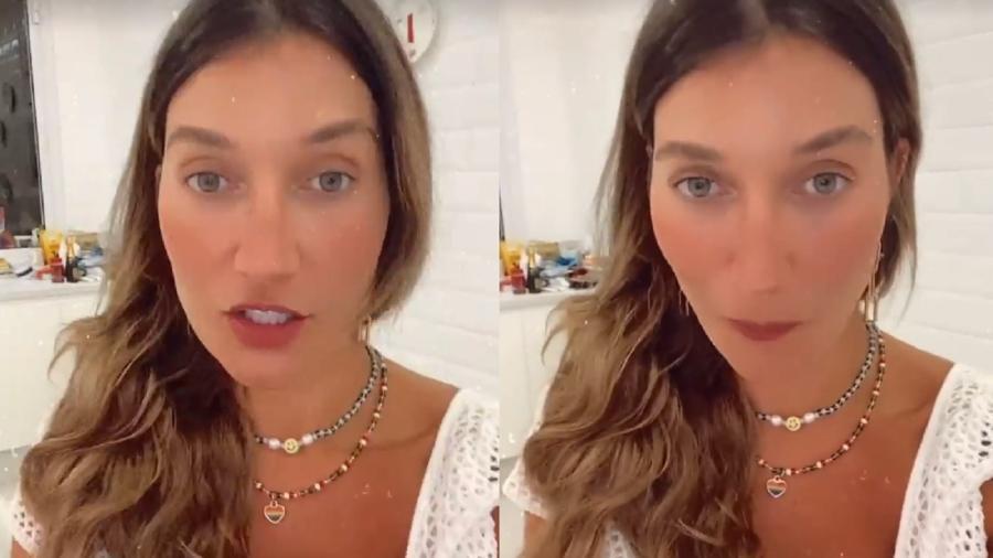 Gabriela Pugliesi fez desabafo nas redes sociais - Reprodução/Instagram