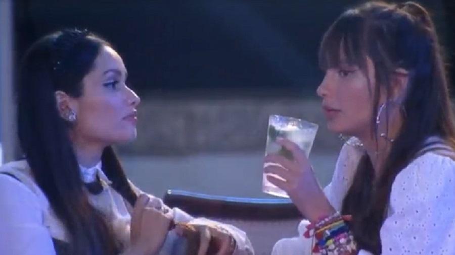 BBB 21: Thaís e Juliette conversam sobre os rumos do jogo - Reprodução/Globoplay