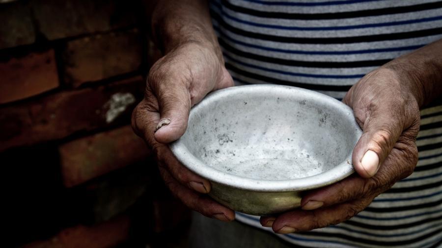 No fim de 2020, a ONU anunciou que 270 milhões de pessoas no mundo passavam fome ou estavam perto de não ter o suficiente para comer - iStock