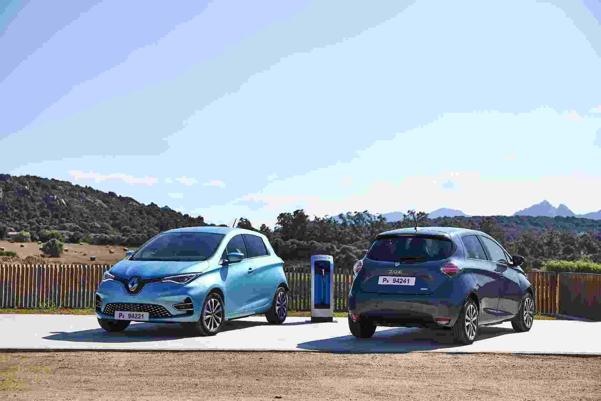 Renault Zoe E-Tech 2022 - Divulgação