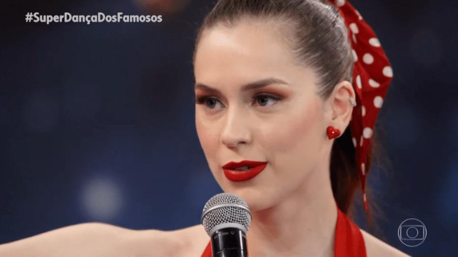 """Sophia Abrahão na """"Super Dança dos Famosos"""" - Reprodução/Globoplay"""