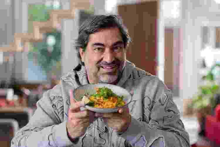 Zeca Camargo cozinhou o arroz de puta rica no Brasil com Zeca - Marcelo Santos/UOL - Marcelo Santos/UOL