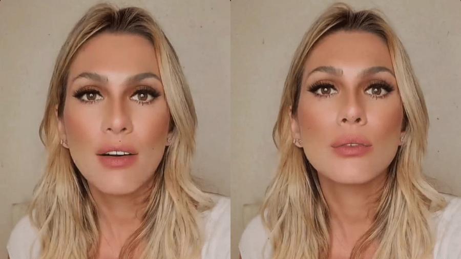"""Lívia Andrade disse que estava sendo """"julgada pelo tribunal da internet"""" por acompanhar o namorado no exame de DNA do filho - Reprodução/Instagram"""