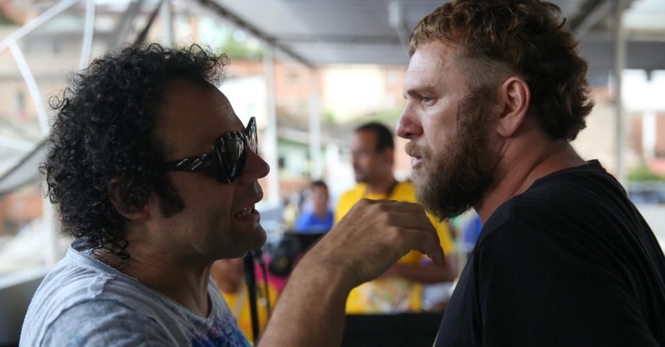 Maestro Forró recebe o cantor Otto para último ensaio antes da largada do Carnaval de Recife de 2016