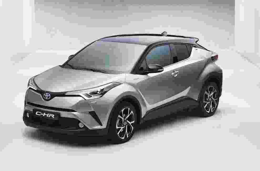 Toyota C-HR 2017 - Reprodução/Carscoop