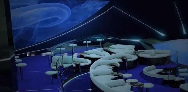 Os espaços prometem oferecer enormes janelas para o fundo do mar - Divulgação/Ponant Yacht Cruises & Expeditions