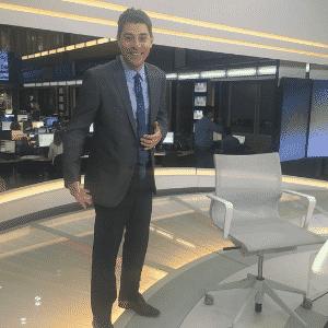 """13.mai.2015 - Novato nas redes sociais, o jornalista Evaristo Costa ganhou cerca de 104 mil seguidores no Facebook e outros10 mil no Instagram em apenas uma semana. O âncora do """"Jornal Hoje"""" decidiu se render à internet na primeira semana de maio - Reprodução/Instagram/evaristocostaoficial"""
