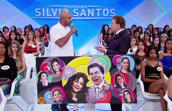 Em 2015, o artista plástico Paulo Terra conheceu Silvio Santos e o presenteou com um quadro