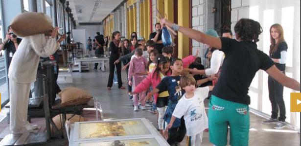 O Museu de Artes e Ofícios usa oficinas, contação de histórias e atividades culturais para convidar crianças, jovens e adultos a desvendarem o rico acervo do espaço localizado na Praça da Estação - Divulgação