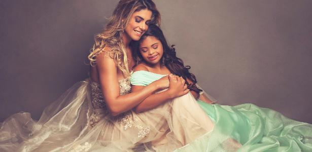 Isabella Bittencourt e a filha Ivy fizeram um ensaio fotográfico sobre a paixão da menina pela dança