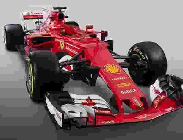 Ferrari SF70H F1 2017 - Divulgação
