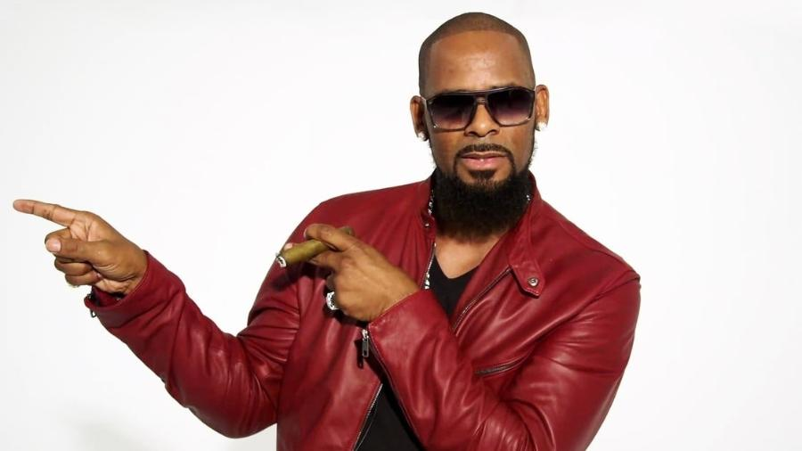 "O cantor americano R. Kelly, do hit ""I Believe I Can Fly"" - Divulgação"