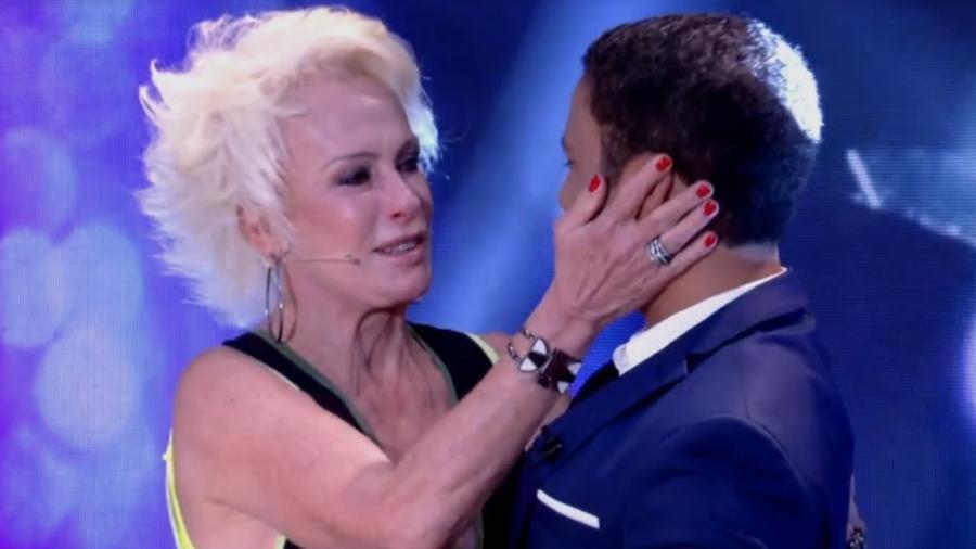"""Ana Maria se emocionou durante o """"Mais Você"""" desta terça-feira (14) - Reprodução/TV Globo"""