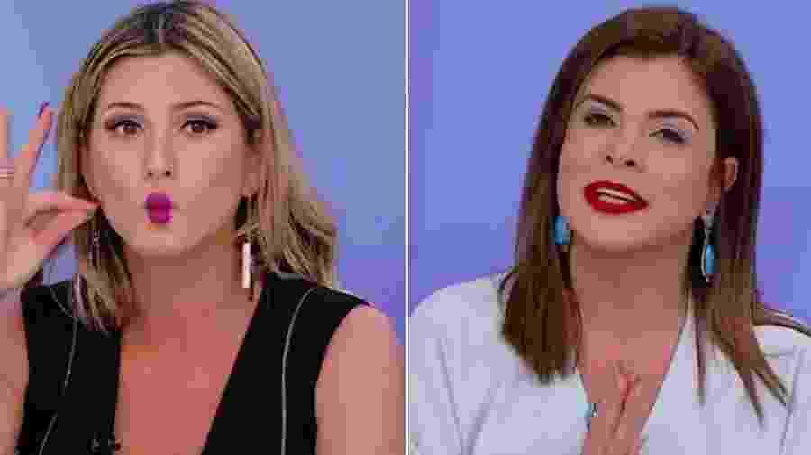 Lívia Andrade e Mara Maravilha - Montagem/Reprodução/SBT