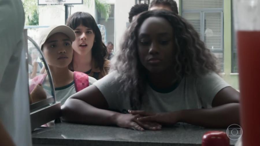 """Tais (Maria Gabrielli Machado) em """"Malhação - Viva a Diferença"""" - Reprodução/TV Globo"""