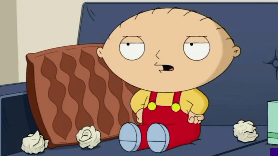 Stewie no mais recente episódio de Uma Família da Pesada - Reprodução