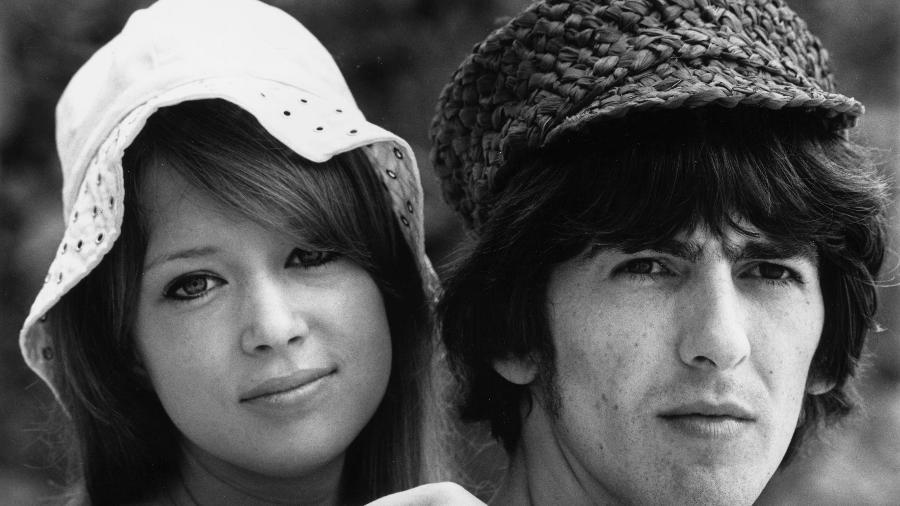 Pattie Boyd foi casada com George Harrison e, depois, com Eric Clapton - Getty Images