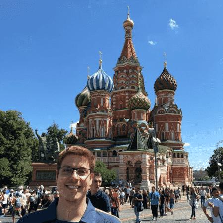 Fabio Porchat na Rússia - Reprodução/Instagram