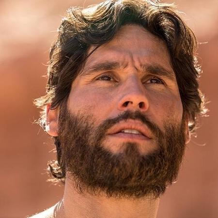 """Dudu Azevedo como """"Jesus"""" na trama da Record - Divulgação/Record"""