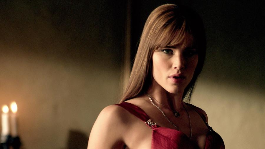 Jennifer Garner como Elektra no filme solo da personagem da Marvel, em 2005 - Divulgação