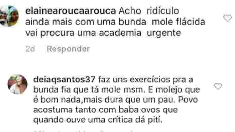Comentários lexa - Reprodução/Instagram/lexa - Reprodução/Instagram/lexa