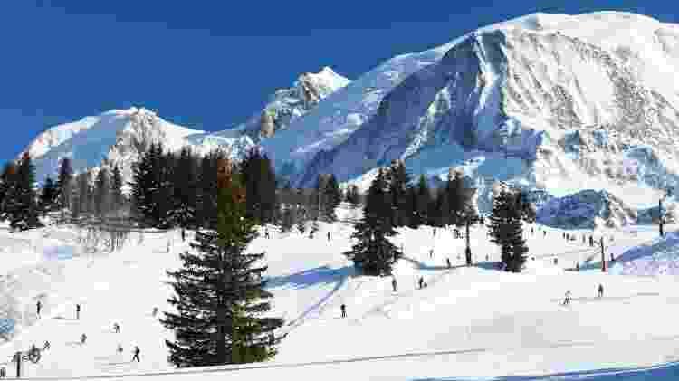 Resort de esqui de Chamonix, na França - Getty Images - Getty Images