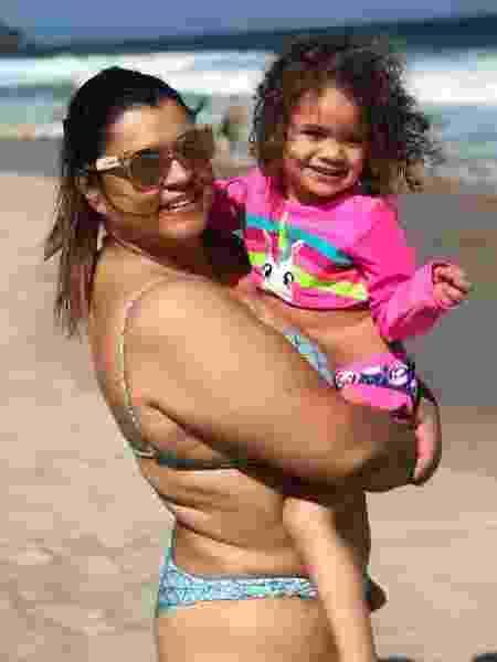Preta Gil e a neta Sol de Maria - Reprodução/Instagram