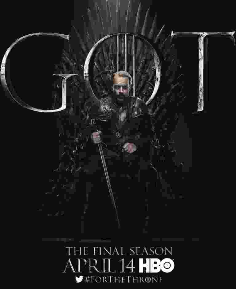 """Iain Glen como Jorah Mormont em """"Game of Throens"""" - Reprodução/EW"""