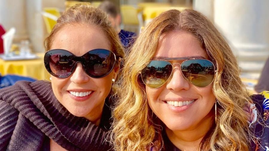Daniela Mercury e Malu Verçosa na Itália - Reprodução/Instagram