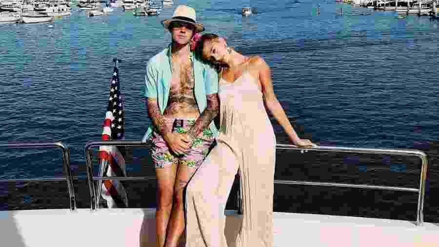 Justin Bieber e Hailey Baldwin foram morar juntos em dezembro do ano passado - Reprodução/Instagram