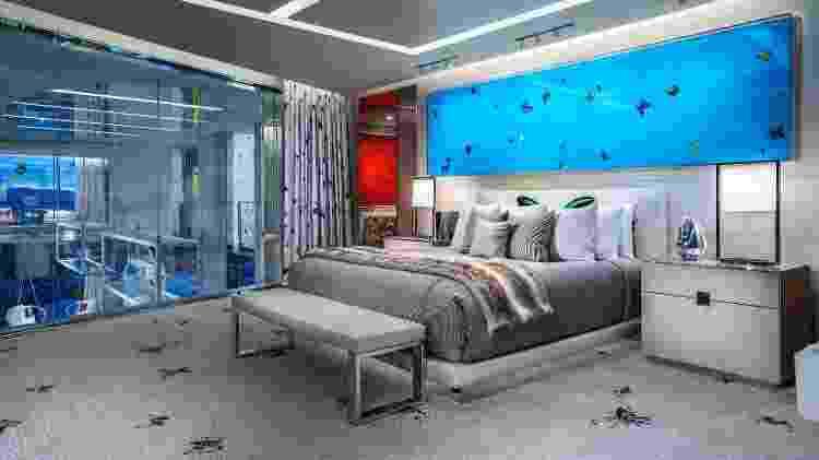 Quarto da Empathy Suite, em Las Vegas, cuja diária custa US$ 100 mil  - Divulgação/Palms Casino Resort