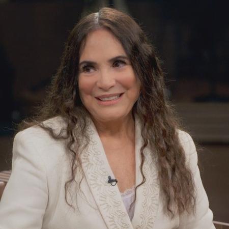 """Regina Duarte participa do """"Conversa com Bial"""" - Reprodução/TV Globo"""
