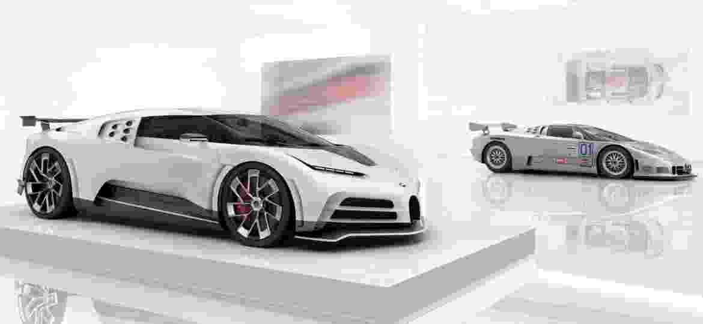 Bugatti Centodieci terá apenas 10 unidades fabricadas - Divulgação