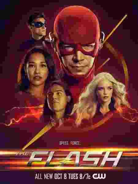 Pôster da sexta temporada de The Flash - Reprodução