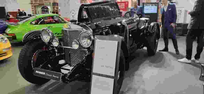 SSK 1928: roadster tem motorzão 7.1 com 200 cv - Reprodução