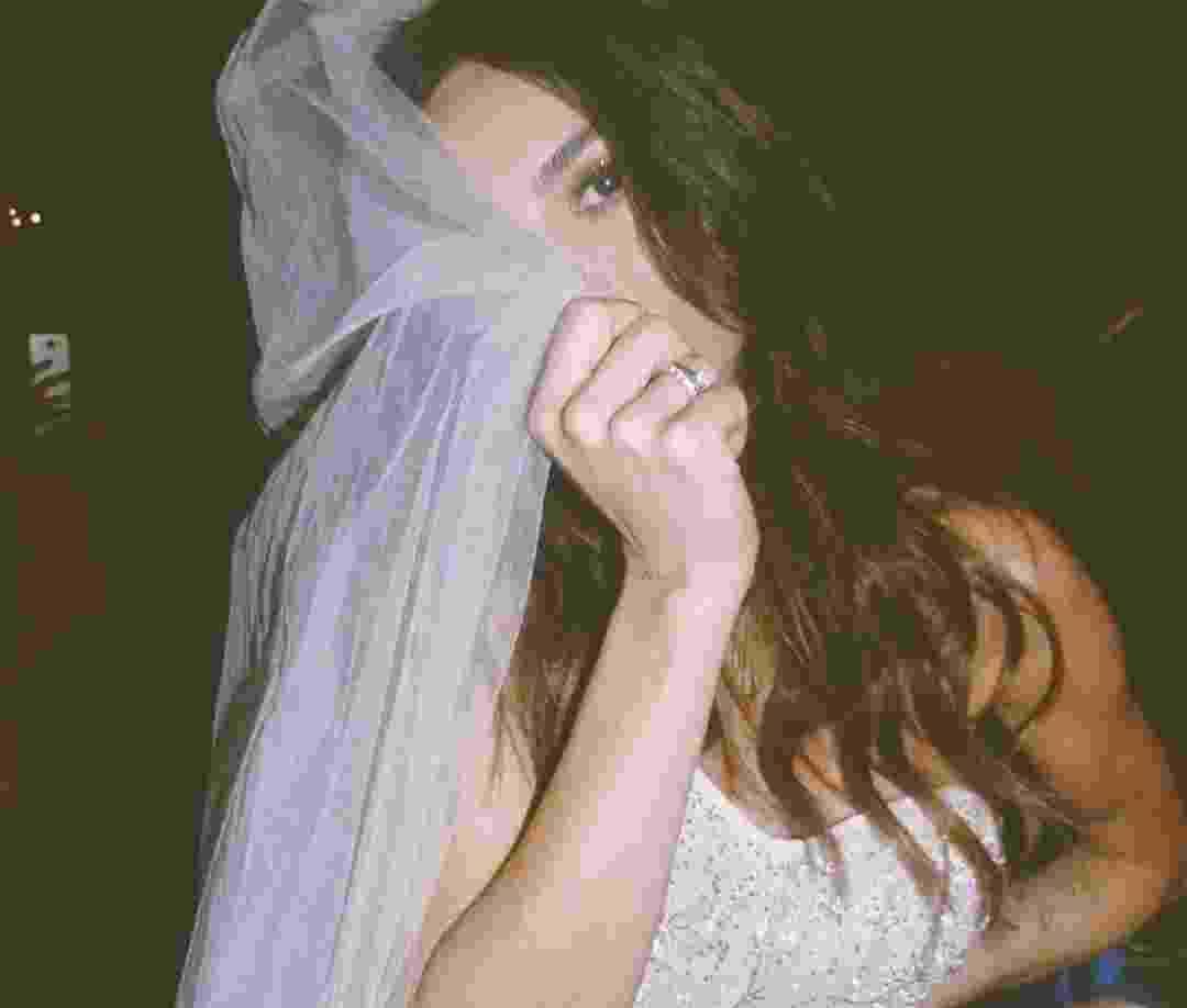 A noiva Thaila Ayala durante a festa  - Reprodução/Instagram