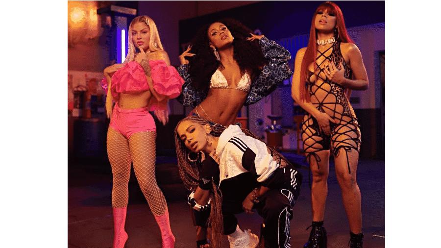 Luísa Sonza, MC Rebecca, Lexa e Anitta - Reprodução/Instagram