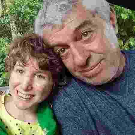 Graça, Carola e Sergio Maduro na casa da família em Petrópolis (RJ) - Arquivo pessoal
