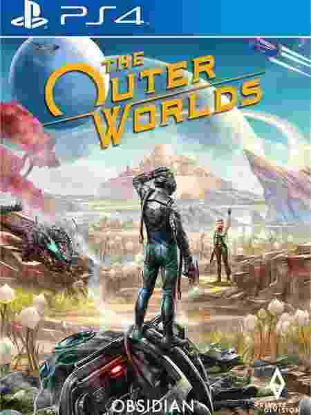 The Outer Worlds capa - Divulgação - Divulgação