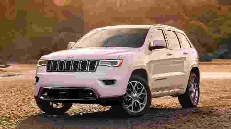 Jeep Grand Cherokee 2020 - Divulgação - Divulgação