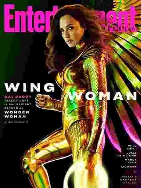 """Gal Gadot na capa da revista Entertainment Weekly em nova imagem do filme """"Mulher-Maravilha 1984"""" - Reprodução/Entertainment Weekly"""